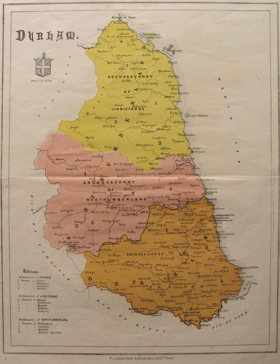 W J Sackett 1864 from u201cA New